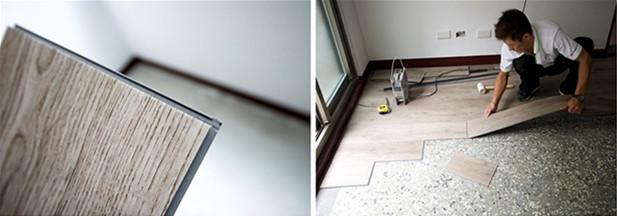 PVC地板工程 聿言設計 台中室內設計