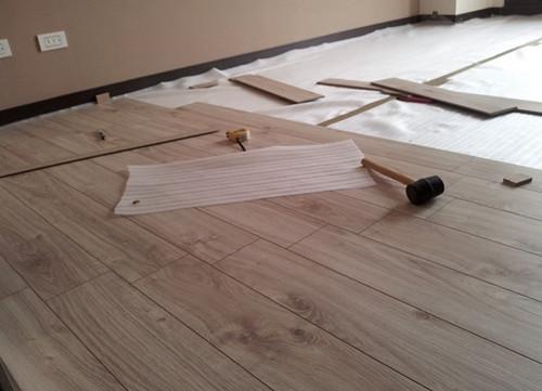 木地板工程 聿言設計 台中室內設計