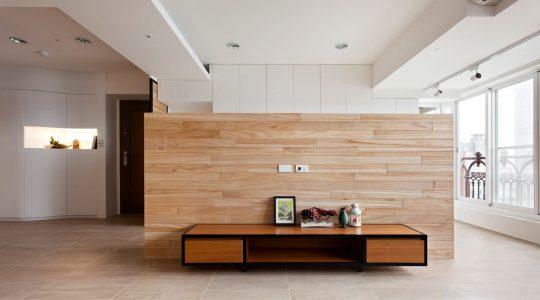 自然風 木質感家居裝潢設計, 聿言設計, 台中室內設計