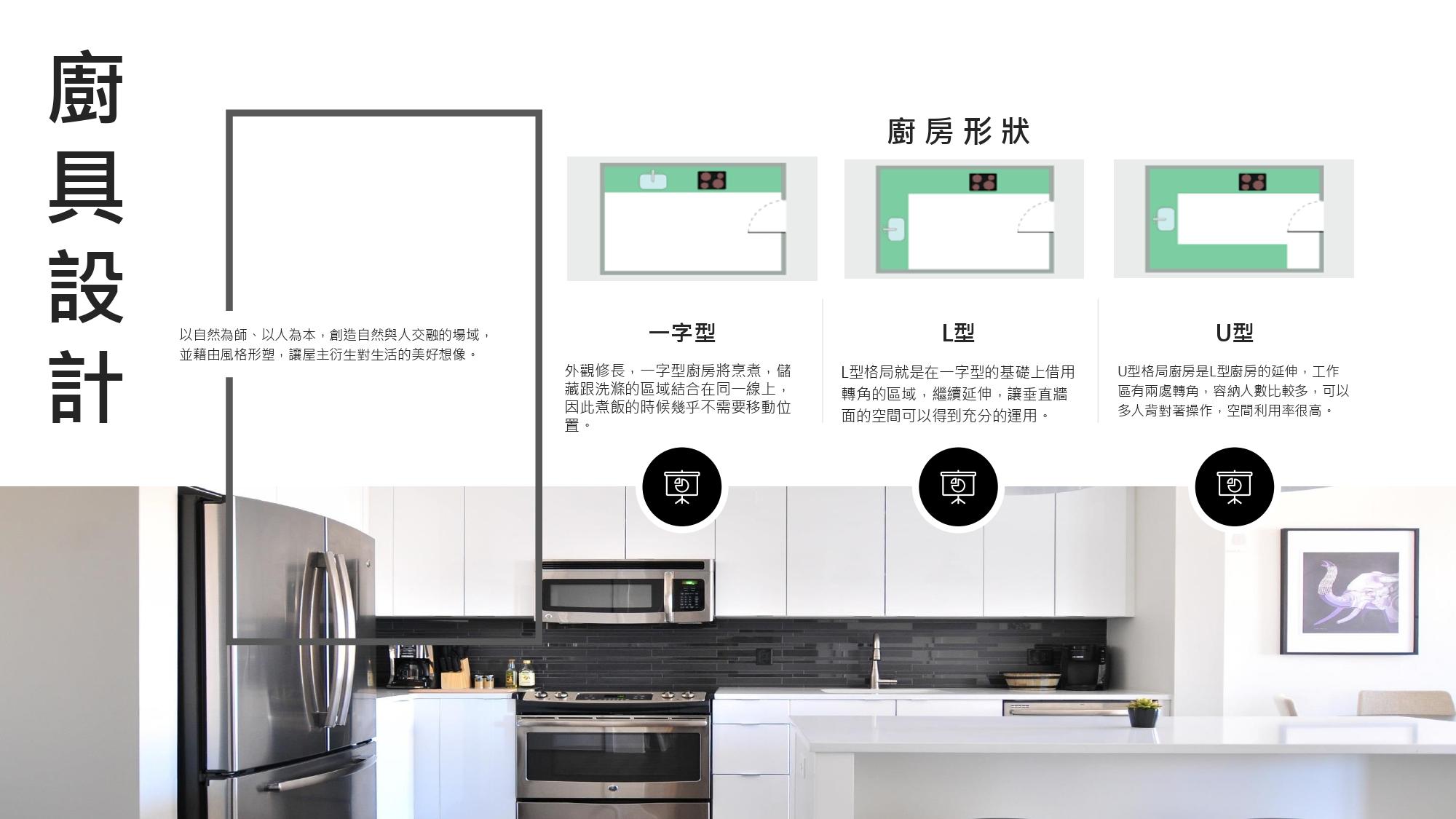 廚具設計 聿言設計 台中室內設計